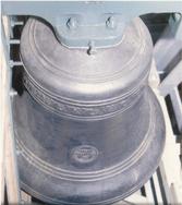 One of the new millenium bells